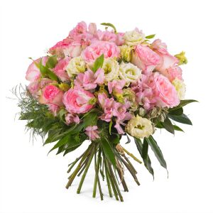 Bouquet in pink shades